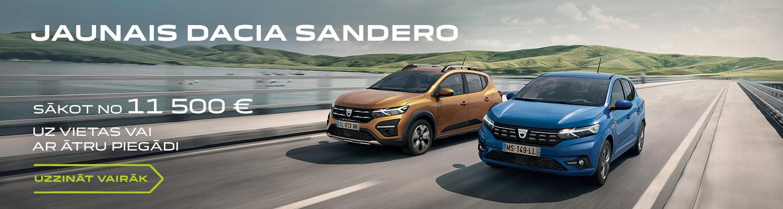 Dacia Sandero akcija