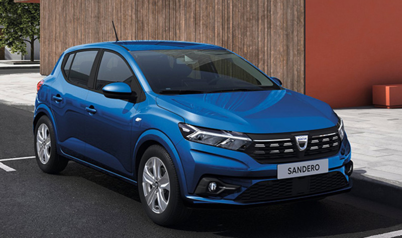 Dacia Sandero kļūst par What Car? Gada Auto Lielbritānijā