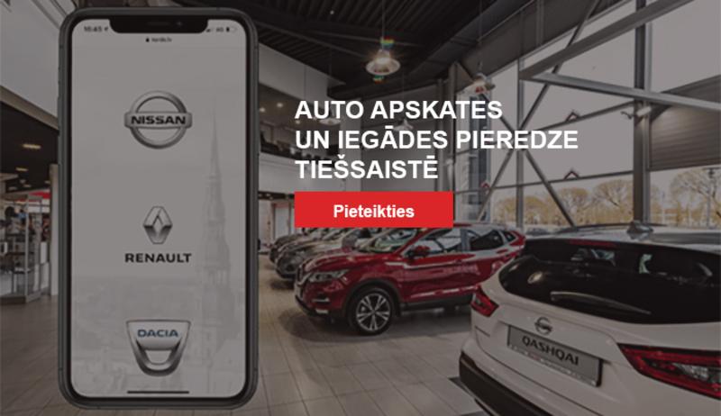 Auto apskates un iegādes pieredze tiešsaistē
