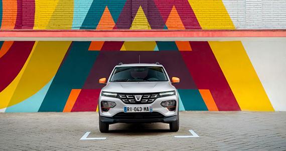 Jaunais Dacia SPRING NORDE